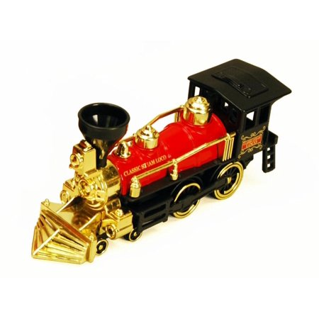 Classic Team Locomotive Train, Red - Showcasts 9935D - 7 Inch Scale Diecast Model Replica (Brand New, but NOT IN BOX)