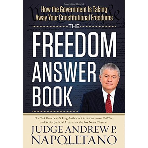 The Freedom Answer Book How The Government Is Taking Away Your