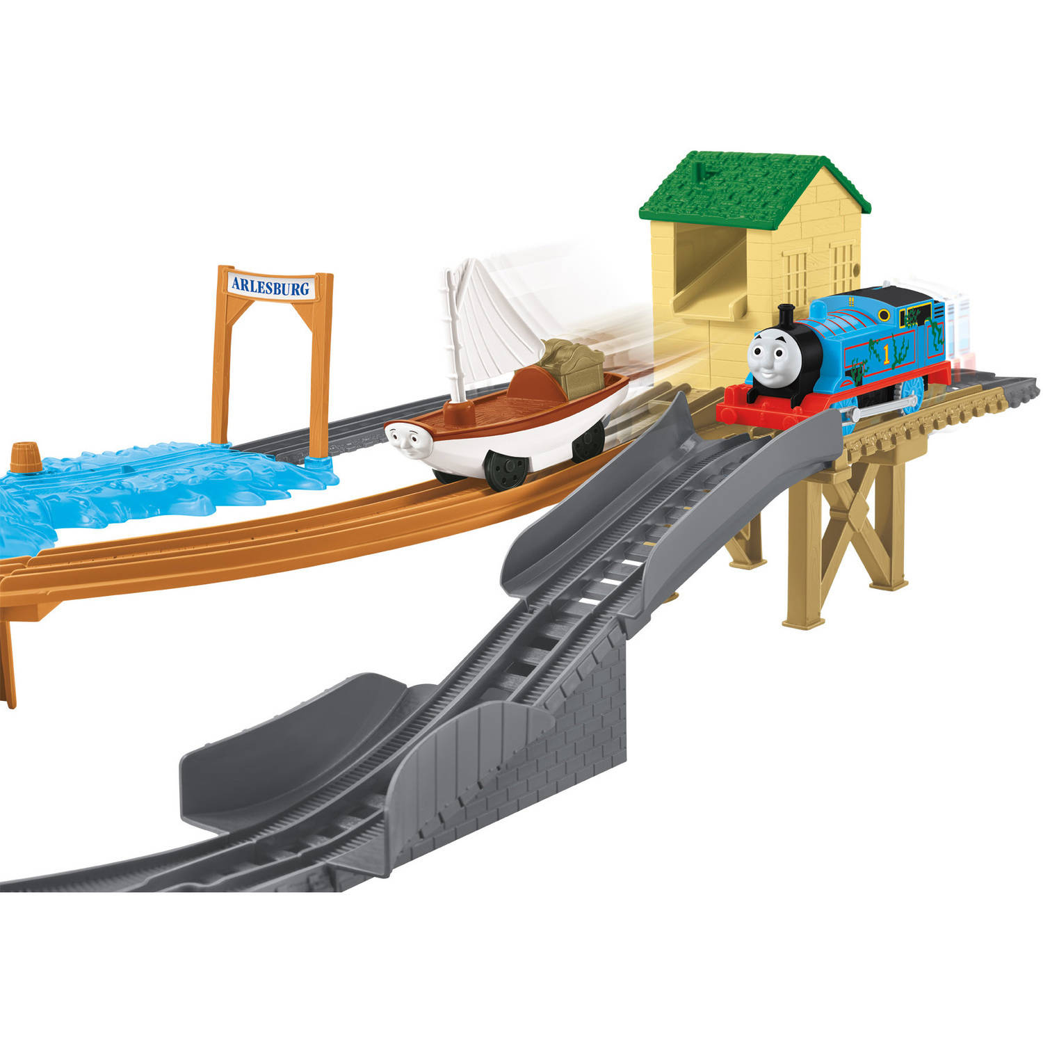 Fisher price thomas amp friends trackmaster treasure chase set new - Fisher Price Thomas Amp Friends Trackmaster Treasure Chase Set New 0