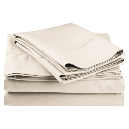 Classic Hemstitch Sheet Set (Superior Cotton Rich 600TC Hemstitch Sheet Set)