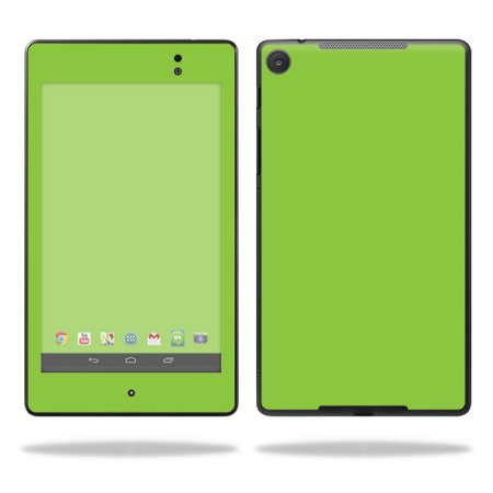 Mightyskins Protective Skin Decal Cover For Asus Google Nexus 7    2013   2Nd Generation  Wrap Sticker Skins Solid Green