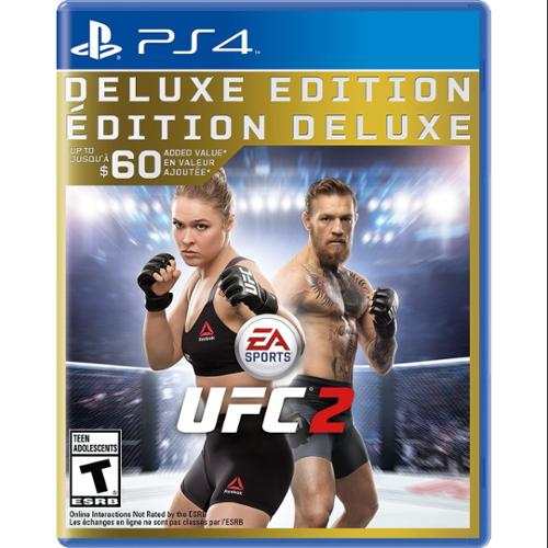 Ea Ufc 2 Deluxe Edition - Fighting Game - Playstation 4 (37077)