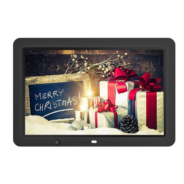 "12"" HD LED Digital Photo Frame - Multifunction Digital Picture Display 1280x800 with 8GB Storage(Black)"
