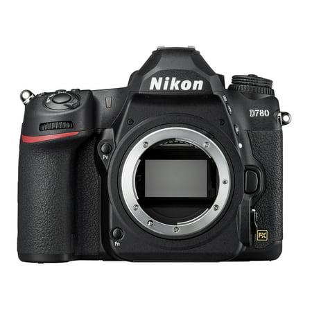 Nikon D780 DSLR 24.3MP HD 1080p FX-Format Digital Camera - Body Only