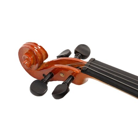 Costway Full Size 4/4 Natural Acoustic Violin Fiddle with Case Bow - image 7 de 9
