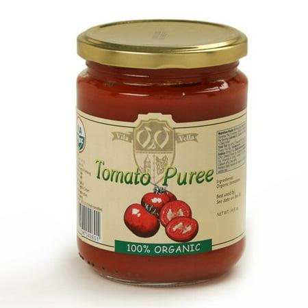 Vila Vella Certified Organic Tomato Puree (14.1