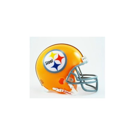 (Pittsburgh Steelers 1962 Throwback Replica Mini Helmet W/ Z2)
