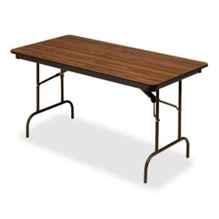 30 x 60 in. Premium Wood Laminate Folding Table,