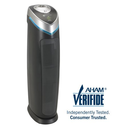 GermGuardian AC5000E 3-in-1 Air Purifier with True HEPA Filter, UV-C Sanitizer, Captures Allergens, Smoke, Odors, Mold, Dust, Germs, Pets, Smokers, 28