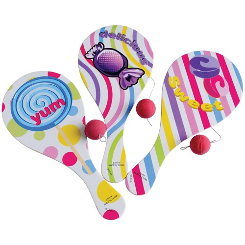 US TOY 4417 Candy Paddle Balls by US Toy Company