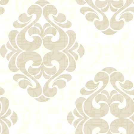 York Wallcoverings Risky Business Tone On Tune Straight 33' x 20.5'' Damask Distressed Wallpaper - Walmart.com