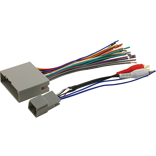 scosche fdk11b 2003 up select ford harness for audiophile sound rh walmart com Scosche Wiring Harness for GM Scosche Wiring Harness Color Code