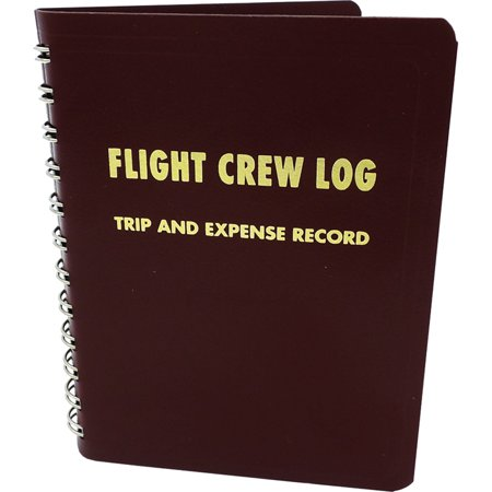 Red Flight Crew Logbook