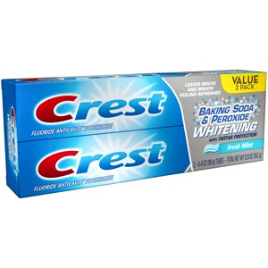 Crest Baking Soda & Peroxide Whitening Fresh Mint Toothpaste (Choose Count and Size)