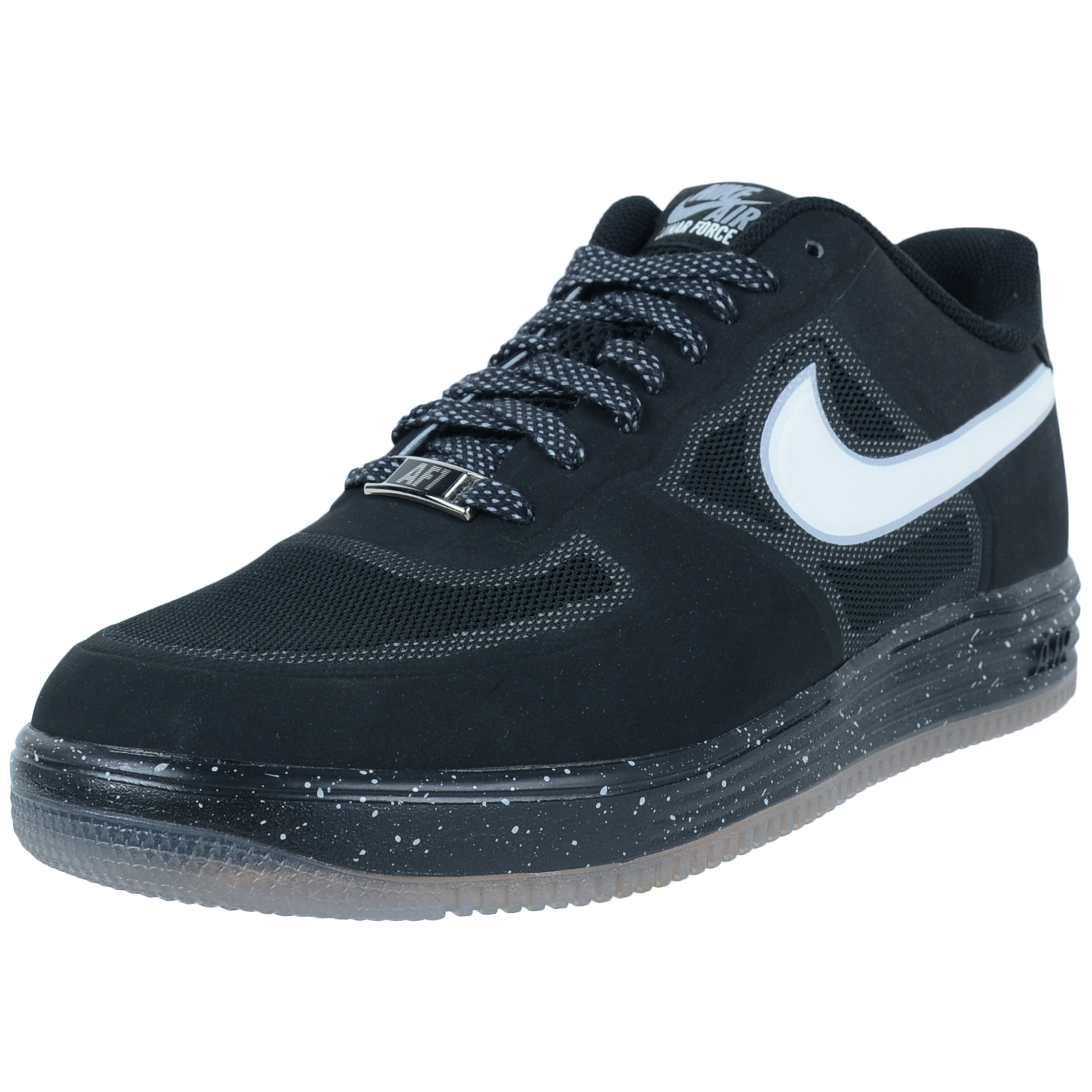 best service 1f276 18d07 11943 332ea  sweden nike nike lunar force 1 fuse oreo basketball shoes  black white 555027 010 walmart b7cf0
