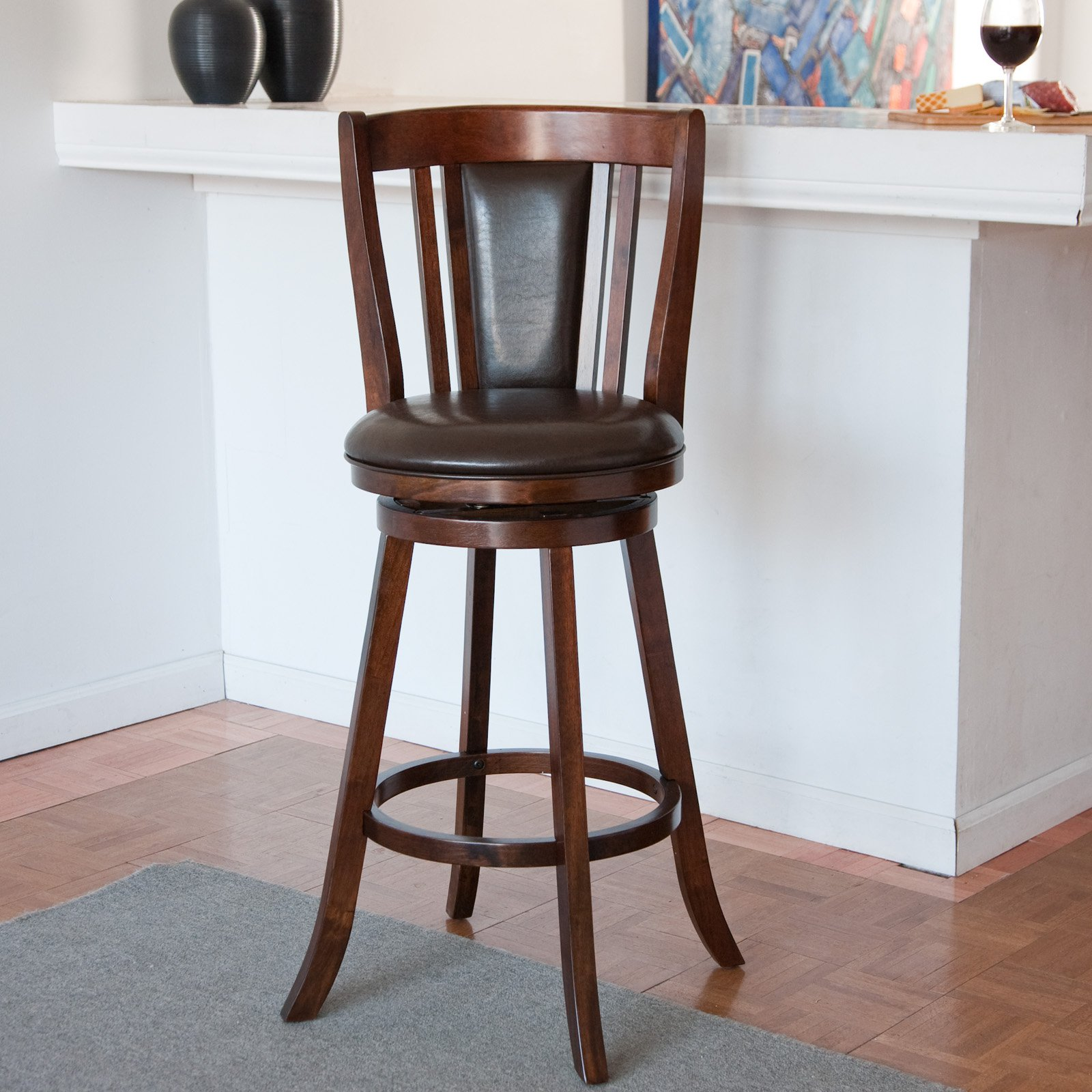 Doncaster 24 in. Swivel Counter Stool