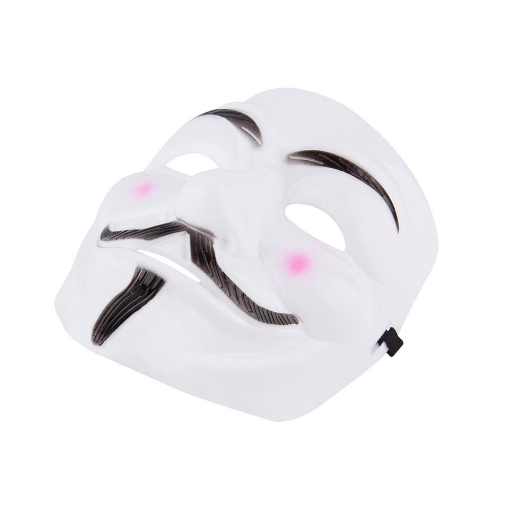 V for Vendetta Anonymous Movie Adult Men Mask Halloween C...