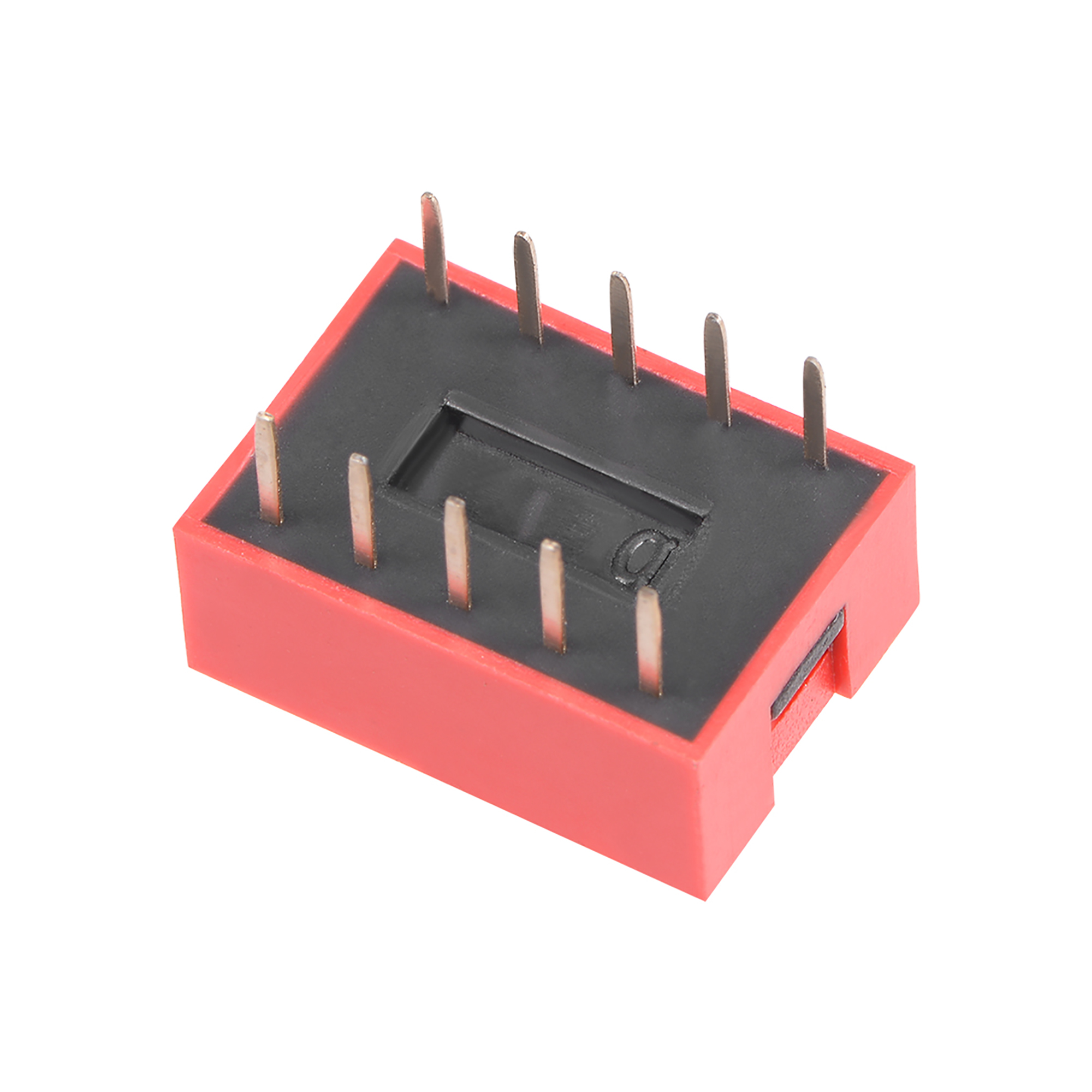 20Pcs Red DIP Switch Horizontal 1-5 Positions 2.54mm Pitch for Circuit Breadboards PCB - image 2 of 3