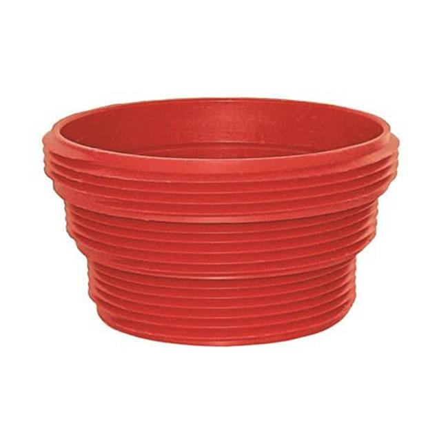 F023105 Ez Coupler Sewer Hose Connector, Red