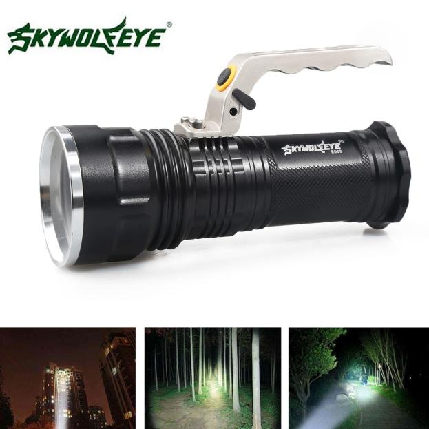Cree XM-L 4000LM Rechargeable Police Tactical LED Flashli...