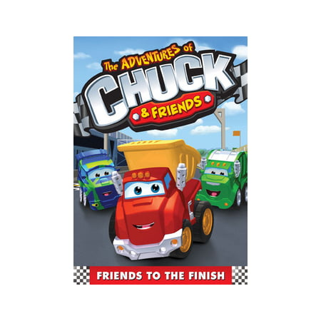 The Adventures of Chuck & Friends: Friends to the Finish (DVD) (Kids Chuck Taylor)