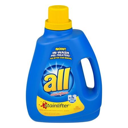 All  Stainlifter  Liquid Laundry Detergent 100 Fl  Oz  Bottle