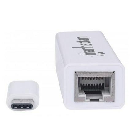 Manhattan Type C To Gigabit Network Adapter