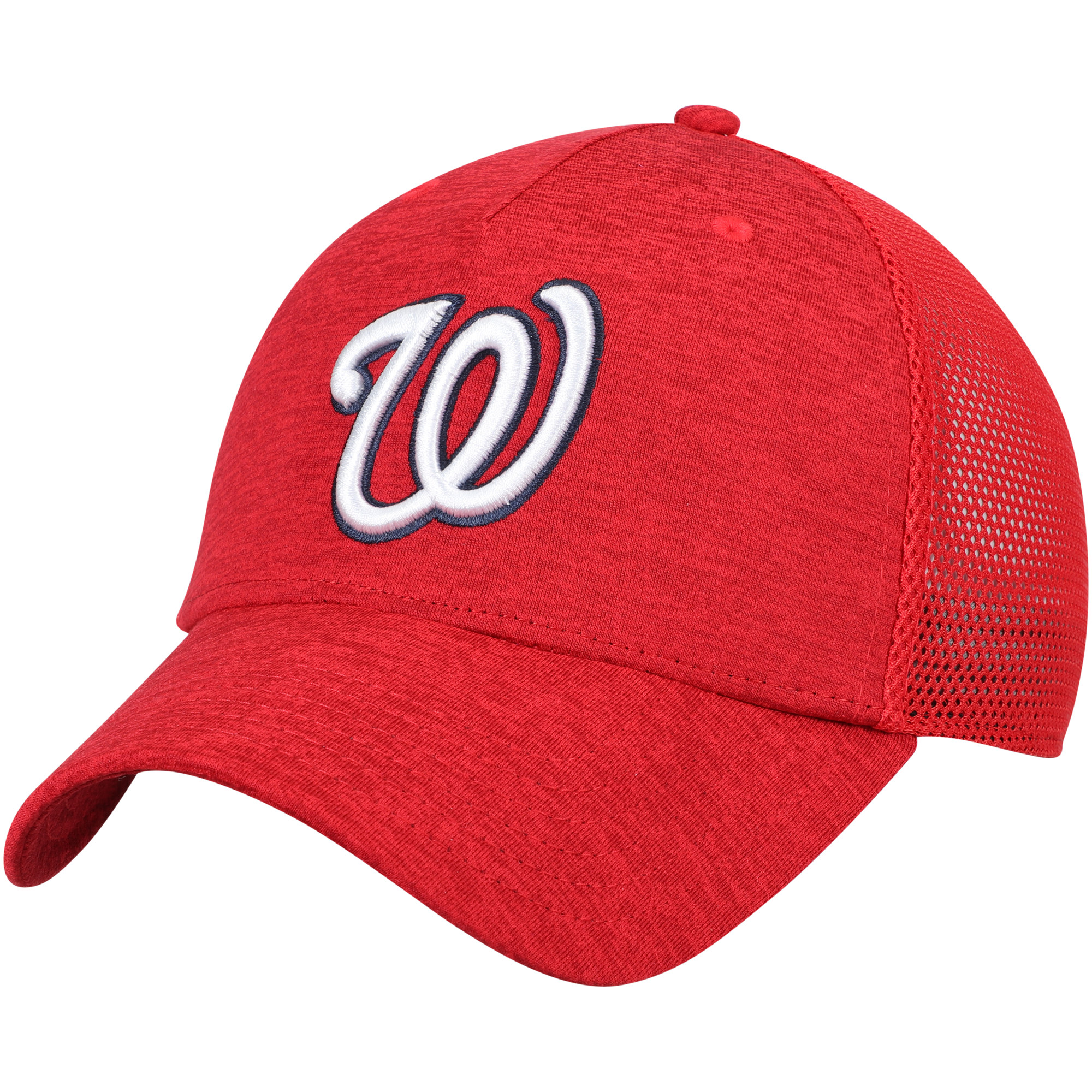 Washington Nationals Under Armour Twist Closer Trucker Performance Adjustable Hat - Red - OSFA