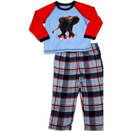 Little Me - Baby Boys and Toddler Boys Long Sleeve Elephant Pajamas - 30 Day Guarantee - FREE SHIPPING Billabong Boys Clothing