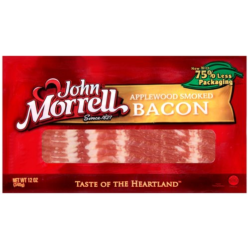 John Morrell Applewood Smoked Bacon, 12 oz