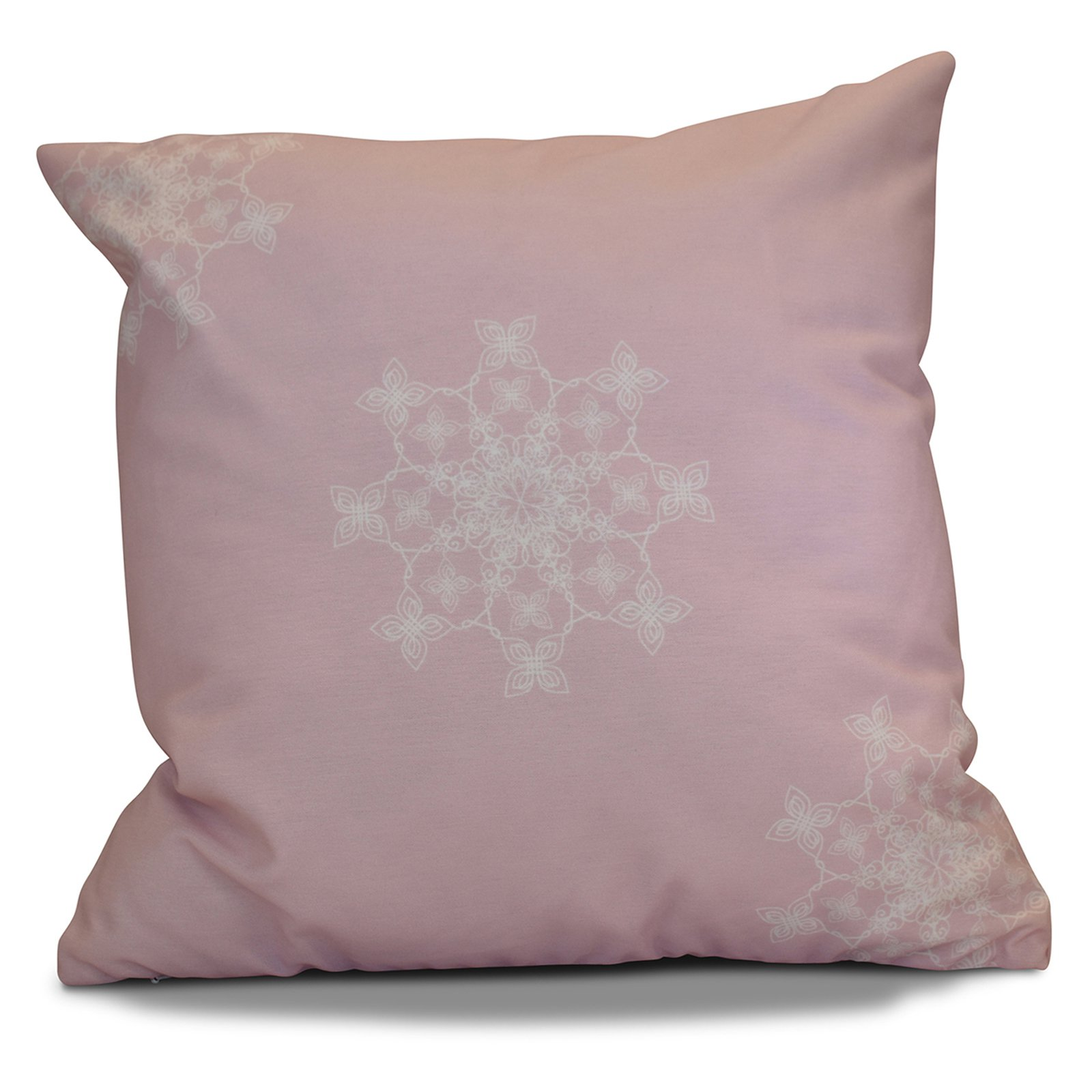 E By Design Falling Snow Decorative Pillow