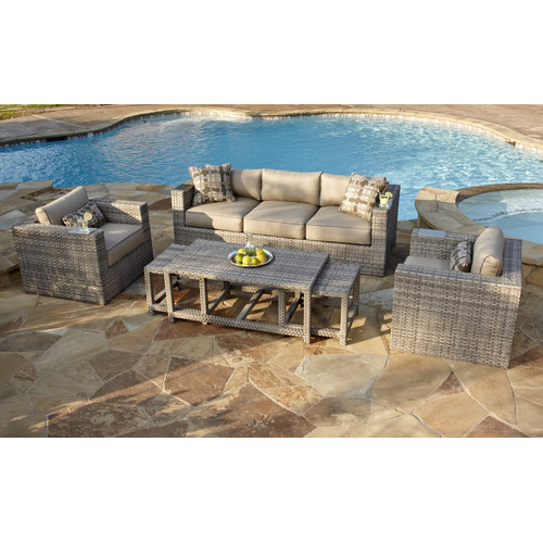 Incroyable Foremost Lako 6 Piece Deep Seating Group With Cushion