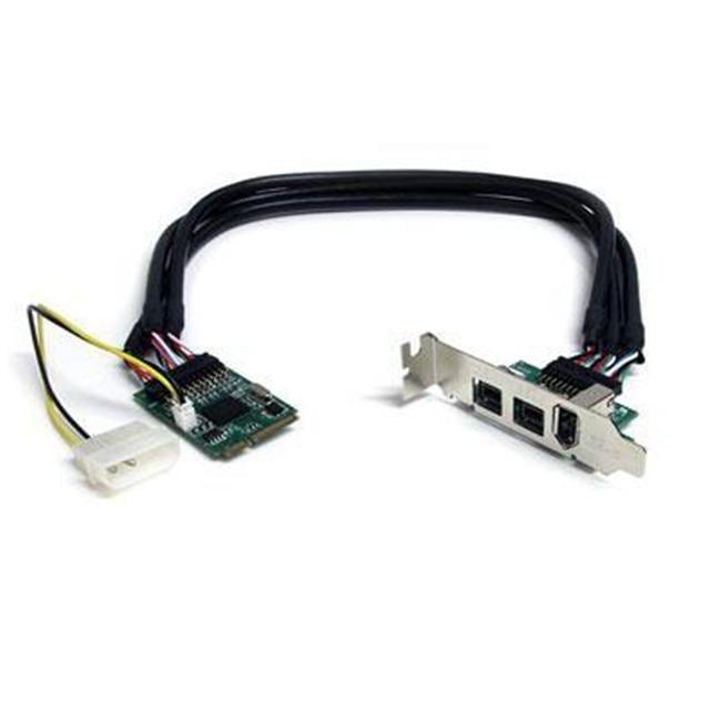 3 Port Mini PCIE Firewire Card Adapter