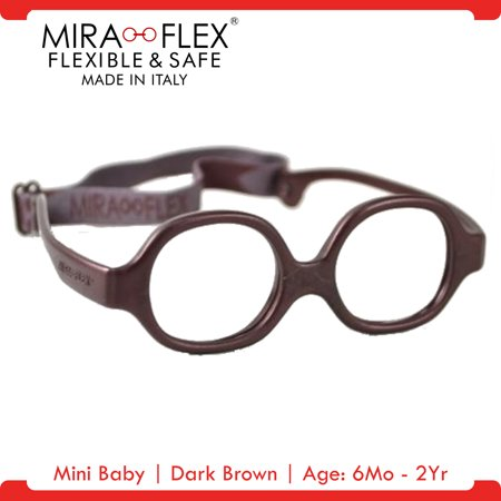 Miraflex: Mini Baby Unbreakable Kids Eyeglass Frames | 33/11 - Dark ...
