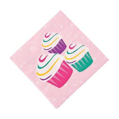 IN-13668573 Birthday Girl Beverage Napkins 16 Piece(s) 4PK