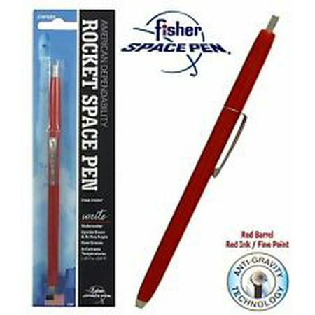 Fisher Space Pen Red Ink Pressurized Rocket Pen SPR82