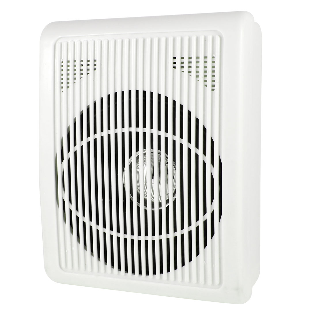 20x16cm Indoor White Plastic Shell Wall Surface Mount Speaker Box 3-5W 8Ohm