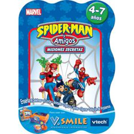 Smile Game Spider (V Smile Game in Spanish - Spider Man - Spiderman y Amigos: Misiones)