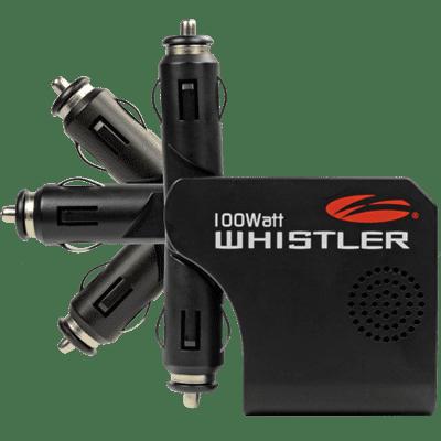 The Whistler Group XP100i Inverter, 100W, 12V, Rotating Plug