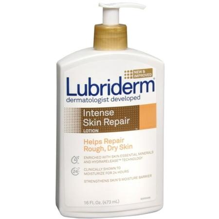 Lubriderm Intense Skin Repair Lotion 16 oz (Pack of 2)