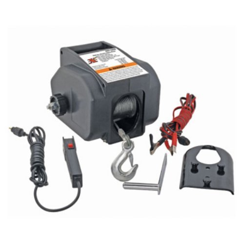 Pro-Lift 12 Volt Utility Winch - 2000 lbs. Single Line Pull