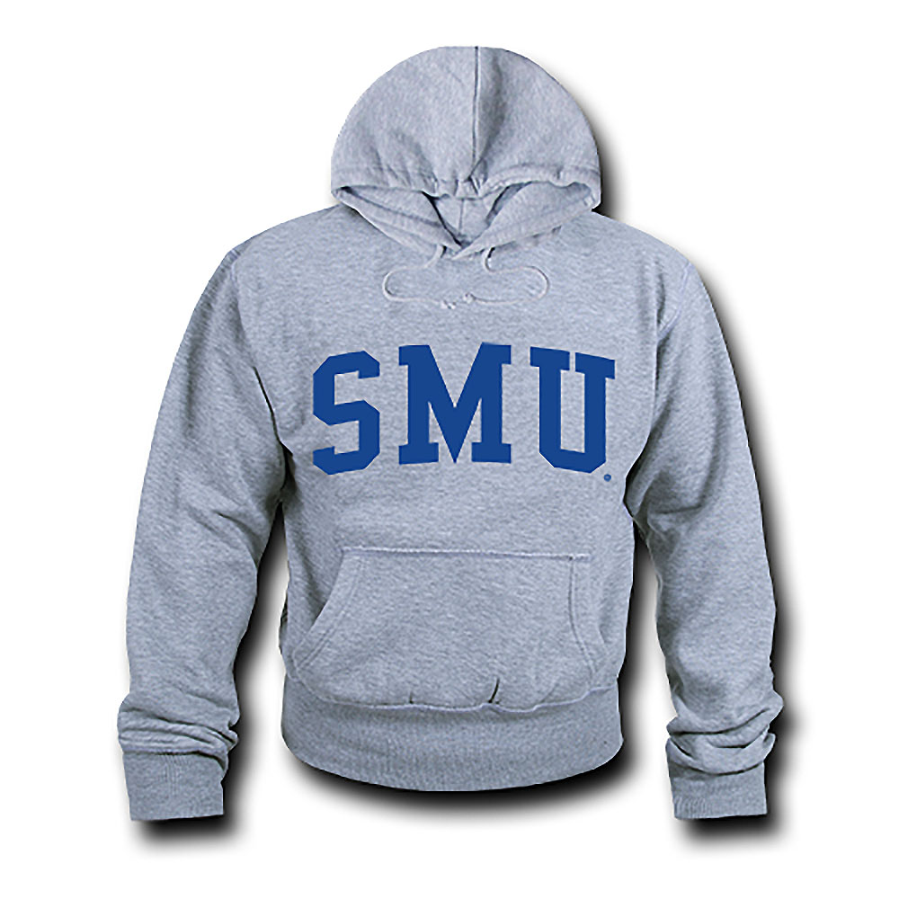 Southern Methodist Mustangs Game Day Hoodie (Gray)
