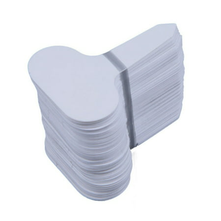 100 PCS Plastic Waterproof Plant Nursery Garden Labels T-type Tags Markers Plant Stakes Re-Usable Plant Tags