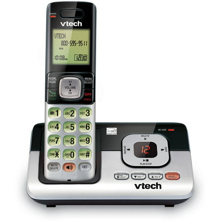 VTech CS6829 DECT 6.0 Handset Cordless Answering (Best Business Answering Machine Messages)