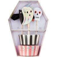 Meri Meri Halloween Icon Cupcake Kit, 24ct