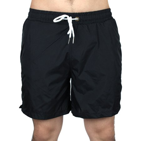 Men Polyester Summer Leisure Sports Running Shorts Pants Black XXL - Polyester Leisure Suits