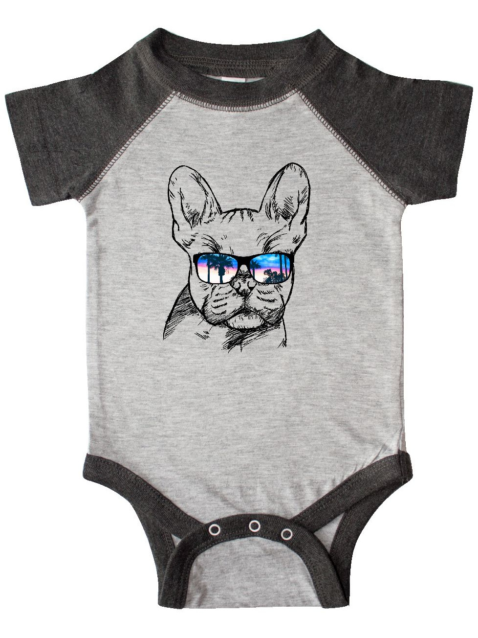 663 Funny Cat Sunglasses Baby Grow Bodysuit Baby Suit Vest Ideal Gift Unisex
