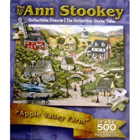 "The Art of Ann Stookey Collectible Puzzle 18""X24"" 500 Piece"