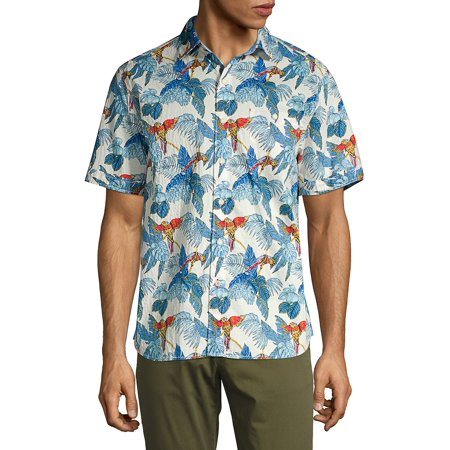 24 Parrot Fronds Camp Shirt (Tommy Bahama Lyocell Shirts)