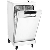 """RCA 18"""" Portable Dishwasher in White RDW1809"""